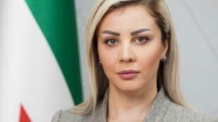نائبة رئيس ائتلاف قوى الثورة والمعارضة السورية، ربى حبّوش
