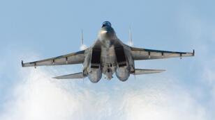 طائرة  روسية من طراز سوخوي