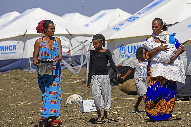 refugiés ethiopiens au soudan