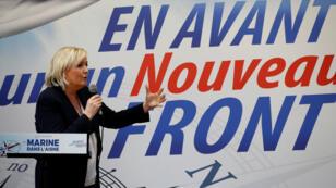 """زعيمة """"الجبهة الوطنية"""" الفرنسي مارين لوبان"""