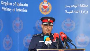 رئيس الأمن العام البحريني اللواء طارق بن حسن (رويترز)