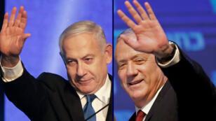 netanyahou_gants_elections_israel_sept2019