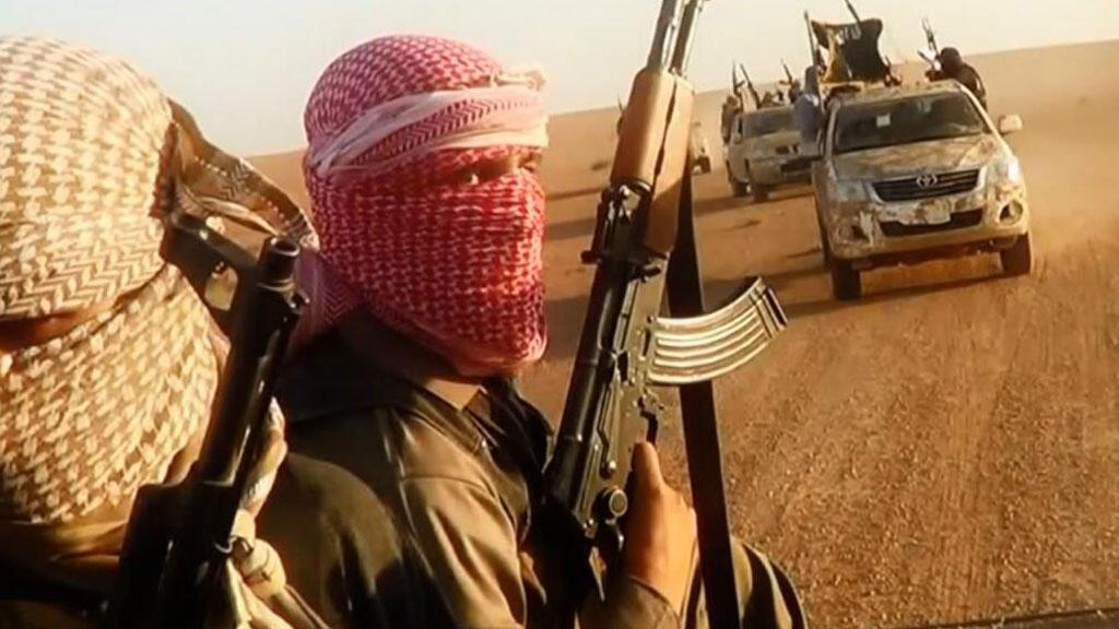 عناصر من تنظيم الدولة الإسلامية
