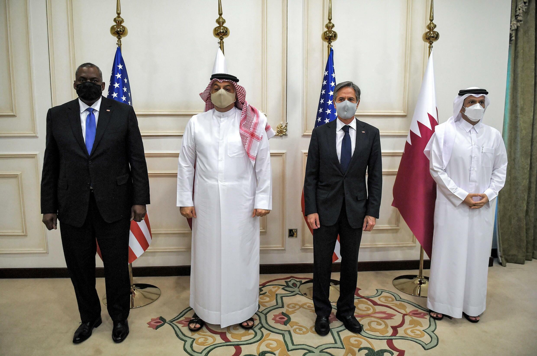 بلينكن في قطر