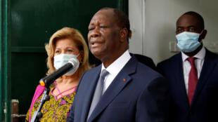 رئيس ساحل العاج المنتخب الحسن واتارا