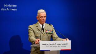 رئيس هيئة الأركان الفرنسي فرنسوا لوكوانتر