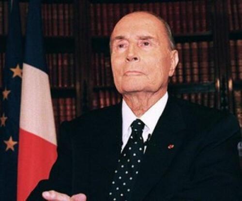 الرئيس الفرنسي السابق فرانسوا ميتران