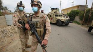 forces irakiennes 27 02 2021