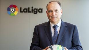 """رئيس رابطة الدوري الإسباني لكرة القدم """"ليغا"""" خافيير تيباس"""
