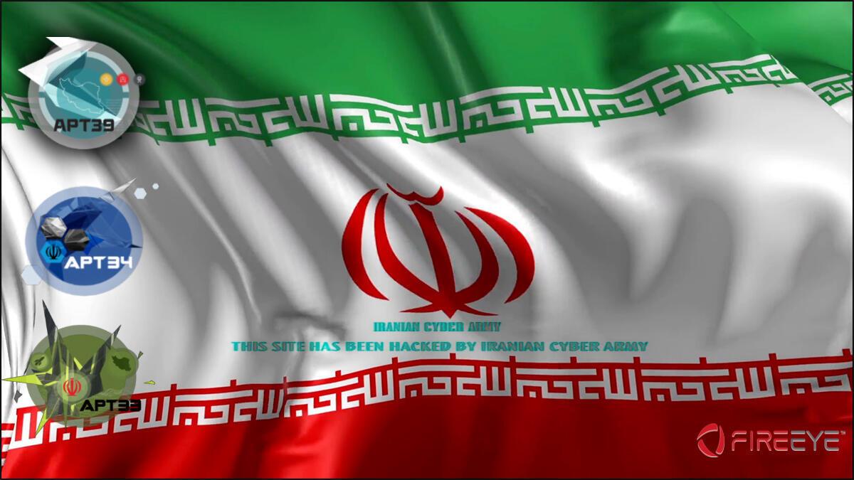 مجموعات التهديدات المستمرة  الإلكترونية الإيرانية
