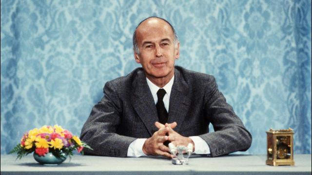 الرئيس الفرنسي السابق فاليري جيسكار ديستان