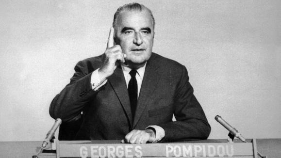 الرئيس الفرنسي السابق جورج بومبيدو