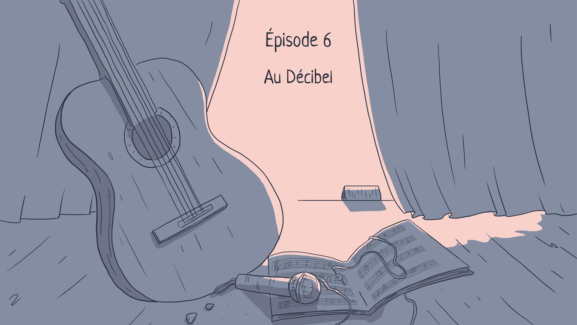 """الحلقة 6 من 13: """"في مقهى الديسيبل"""""""