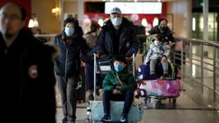 مسافرون صينيون