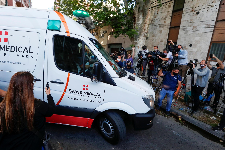 ambulance maradona 11 11 2020