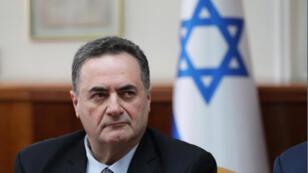 إسرائيل كاتس القائم بأعمال وزير الخارجية الإسرائيلي في القدس