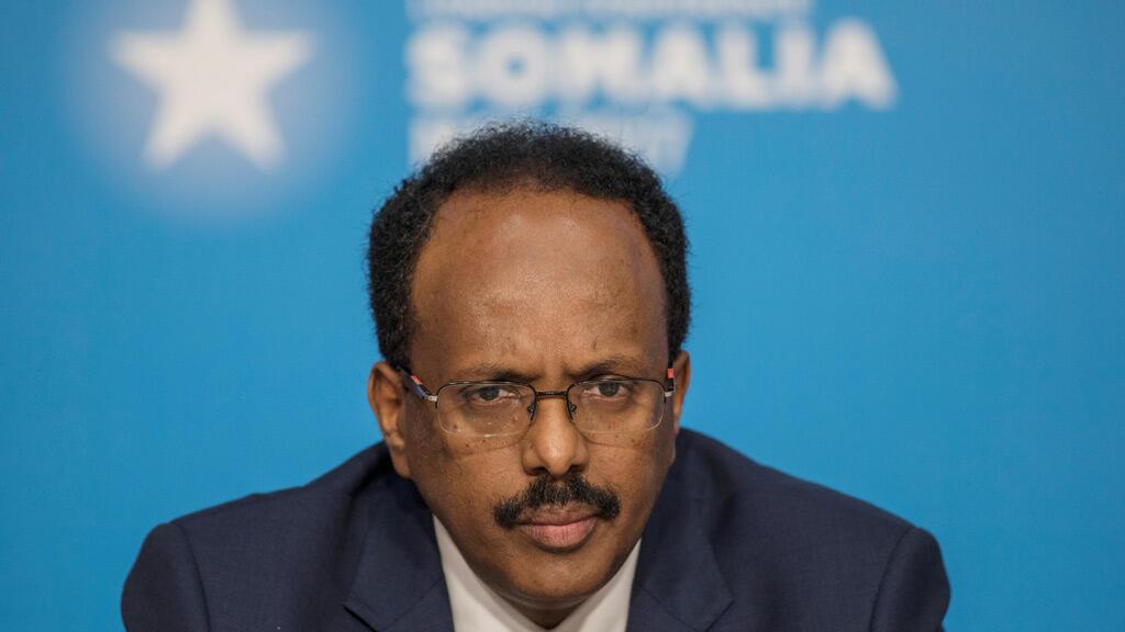 الرئيس الصومالي محمد عبد الله محمد في لندن