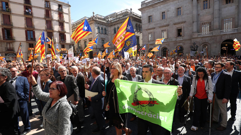 مظاهرات في كاتالونيا