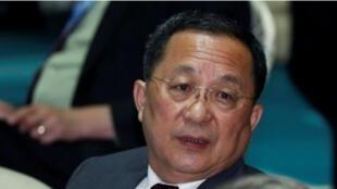 وزير خارجية كوريا الشمالية ري يونج