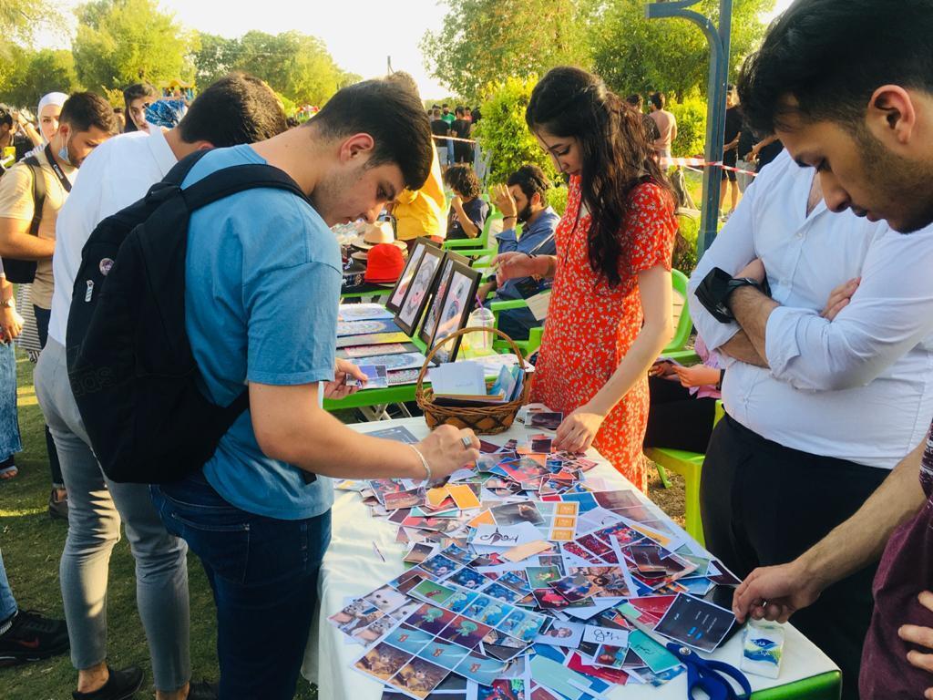 مهرجان الطائرات الورقية السنوي في موسمه الرابع في بغداد، العراق