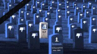 اعلان وفاة فيسبوك