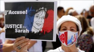 من احتجاجات في باريس مطالبة بالعدالة في قضية سارة حليمي
