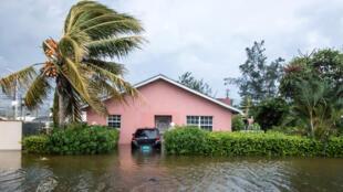 أضرار الاعصار دوريان