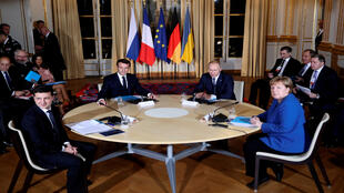قمة باريس بشأن أزمة أوكرانيا