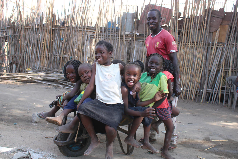 Les enfants à Juba