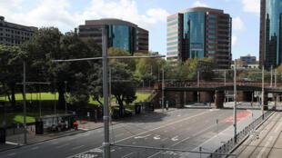 شوارع خالية في أستراليا