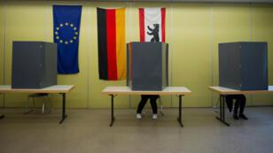 مكتب اقتراع ألماني