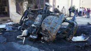 'explosion_-voiture-piégée_-Benghazi_-Libye_10-août-_2019_reuters