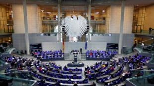 في البرلمان الألماني
