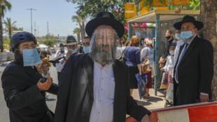 Corona religieux Israël