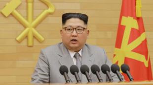 © الزعيم الكوري الشمالي كيم جونغ-أون