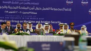 اجتماع مجموعة العمل حول أمن الملاحة البحرية والجوية التابعة لعملية وارسو