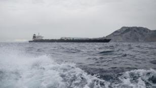 ناقلة النفط الإيرانية المحتجزة قبالة سواحل جبل طارق
