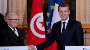 الرئيسان الفرنسي والتونسي