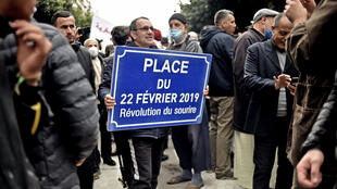 ناشطو الحراك في العاصمة الجزائرية