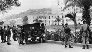 armee francaise algerie  01 11 1961