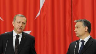 أوربان وأردوغان في بودابست