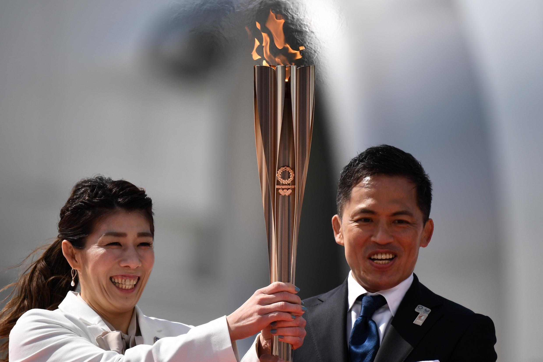 الشعلة الأولمبية 2020