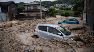 فيضانات في اليابان