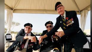3 من قدامي المحاربين البريطانيين يحضرون مراسم في العلمين في مصر في ذكرى المعركة يوم السبت