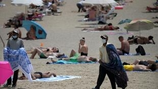 plage barcelone 09 07 2020