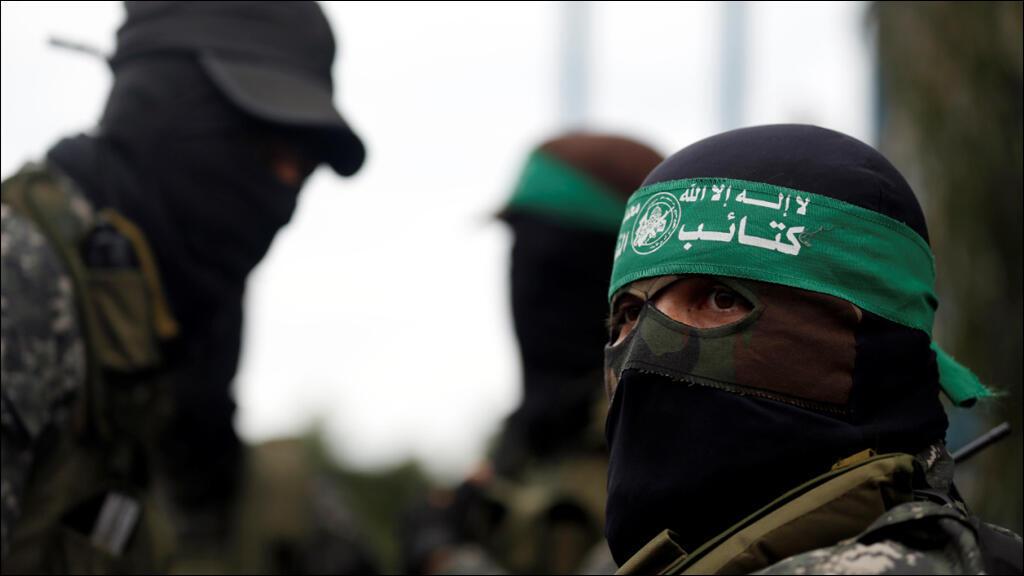 """مقاتلون من حركة """"حماس"""" في غزة"""