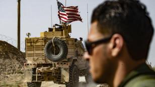 قوات أمريكية على الحدود السورية التركية