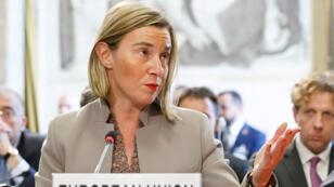 وزيرة خارجية الاتحاد الأوروبي فيديريكا موغيريني