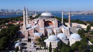 آيا صوفيا في اسطنبول