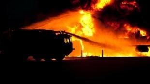 صورة رمزية للحريق